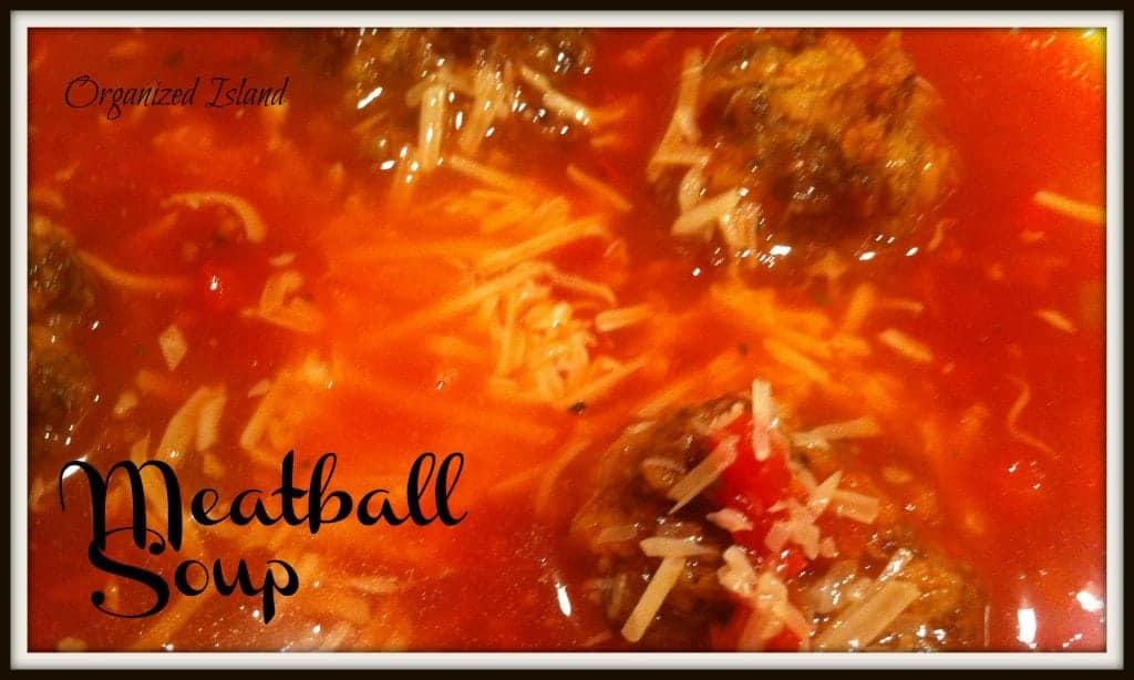 Simple #meatball soup #recipe.jpg