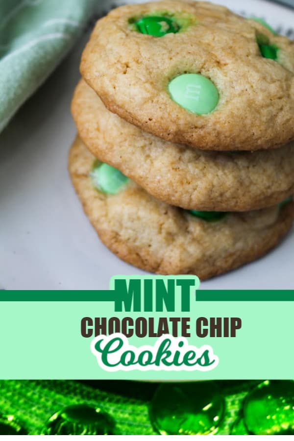 mint chocolate chip cookies recipe