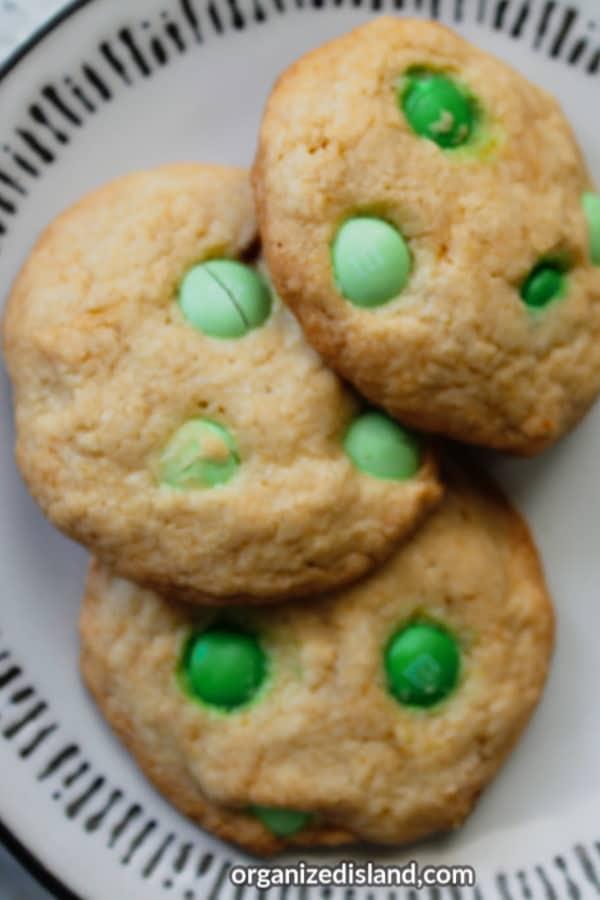 st. patricks dessert cookies
