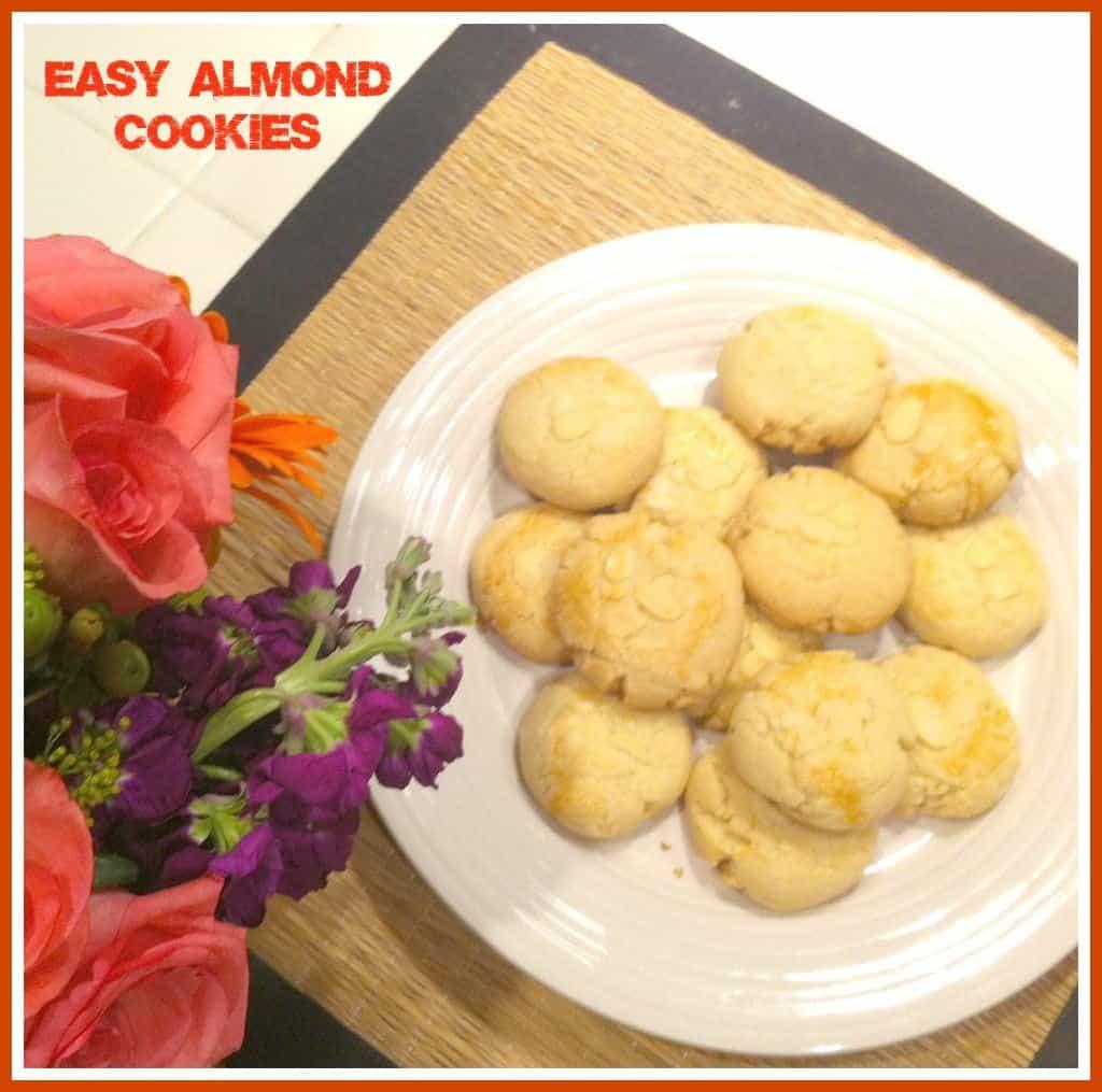 #Easy #Almond #Cookie Recipe
