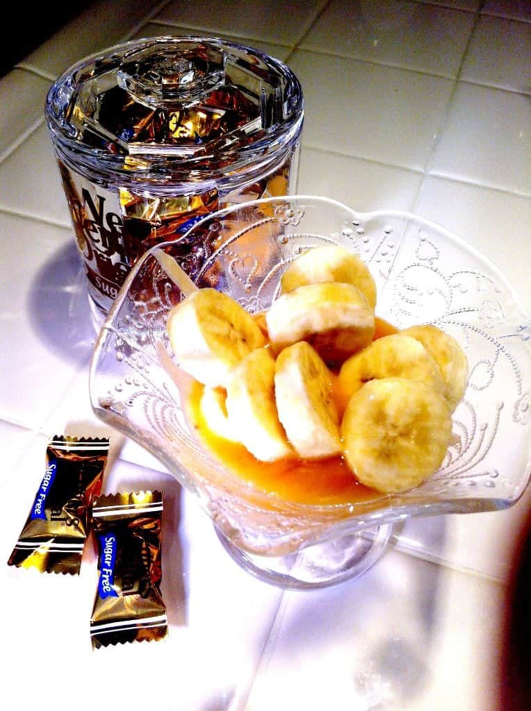 Bananas with Sugar Free Caramel.jpg