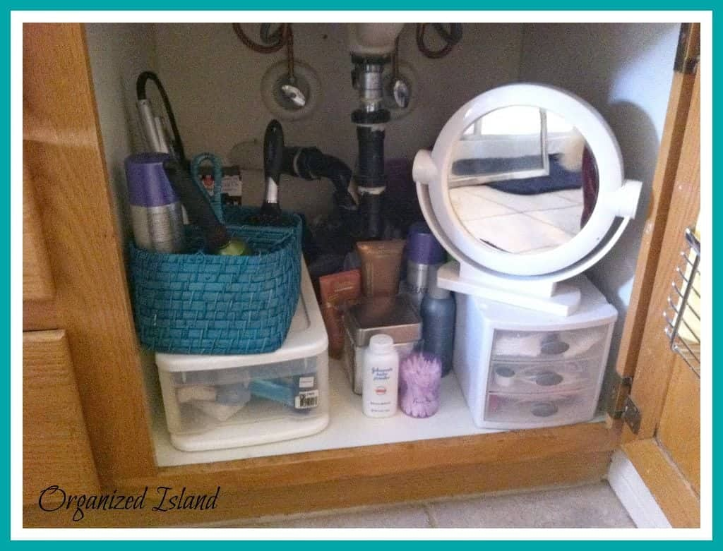 Bathroom Cabinet Organizer Bathroom Cabinet Organization Organized Island