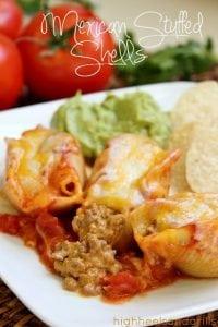 Mexican Stuffed Shells Dinner Recipe