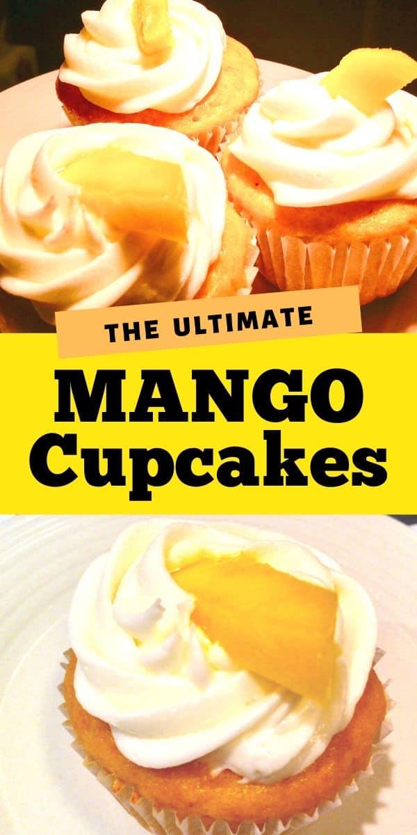 mango cupcakes