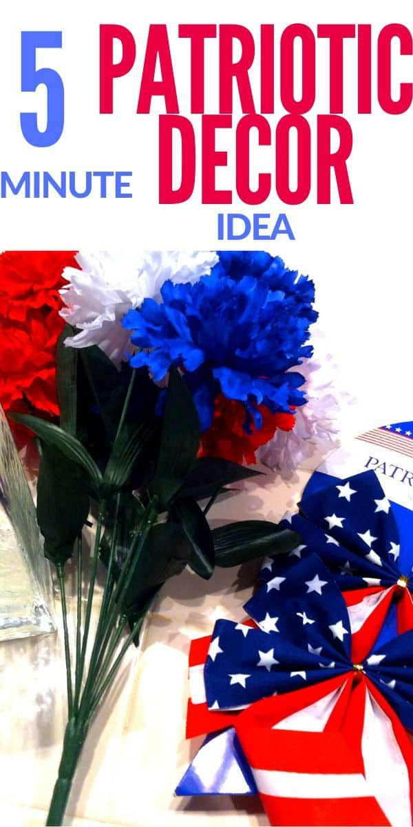 Patriotic Decor Idea