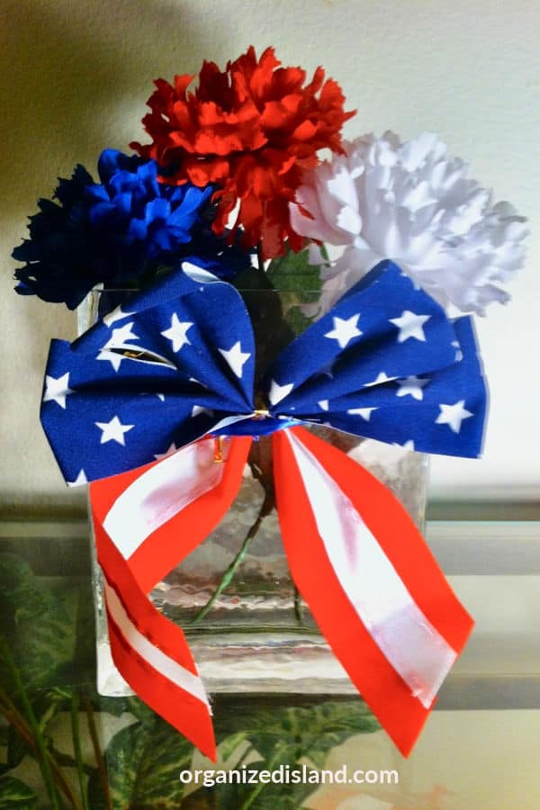 Memorial day 4th of July decor