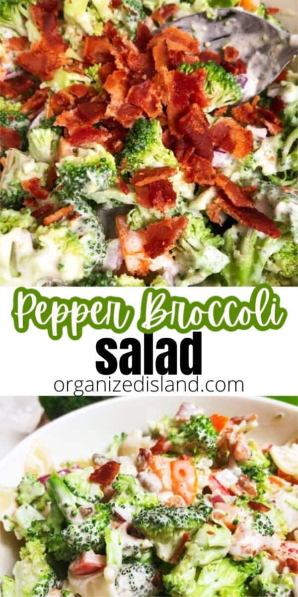Broccoli Pasta Salad Bacon