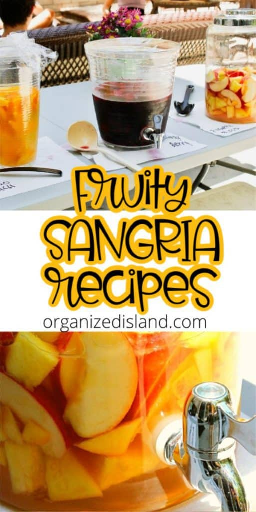 Fruity Sangria recipe pin