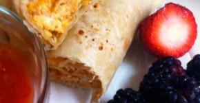 Easy-Breakfast-Burritos from Organized Island #breakfast #burritos