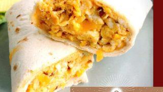 Egg and Chorizo Breakfast Burritos
