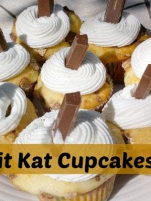 Kit-Kat-Cupcakes