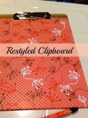 Restyled Clipboard
