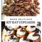 Easy Kit Kat Cupcake Recipe
