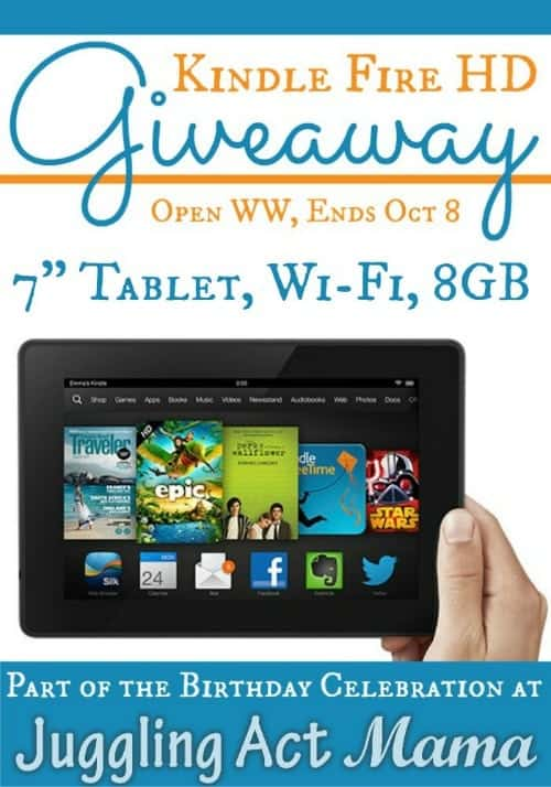 JAM Kindle Fire Giveaway