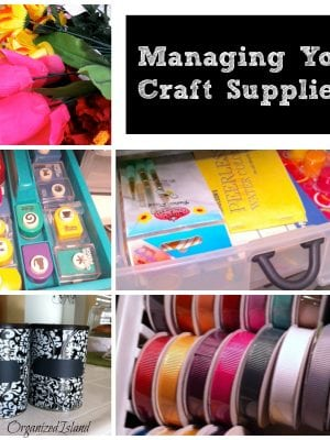 Managing Your Craft Supplies