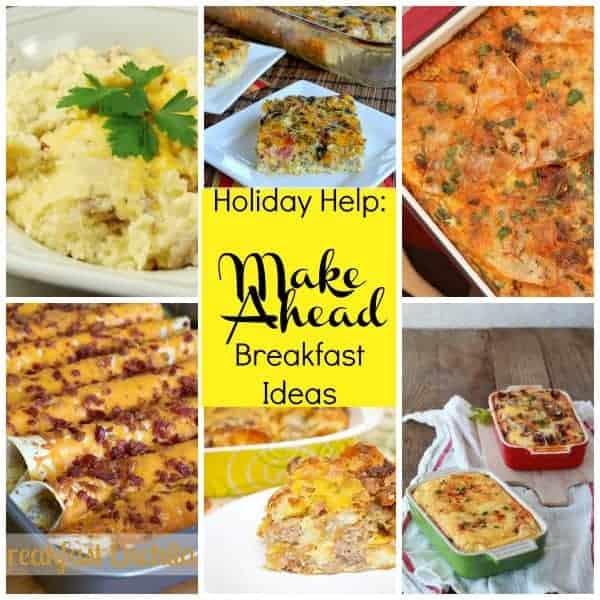 Planning Ahead – 24 Make Ahead Breakfasts