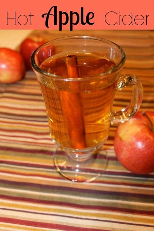 Simple Hot Apple Cider
