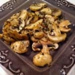 Sautéed Mushrooms with Basil
