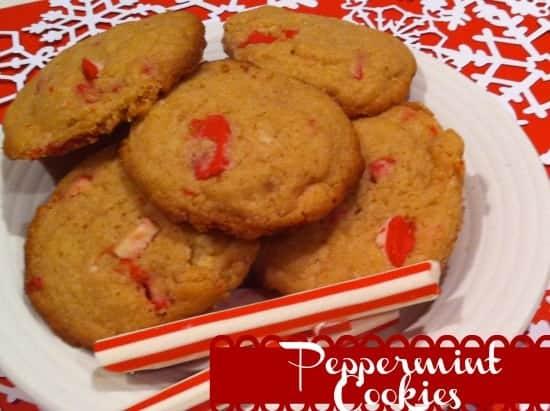SimplePeppermint Cookies