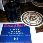 Beer Pairing Fun at Rock and Brews