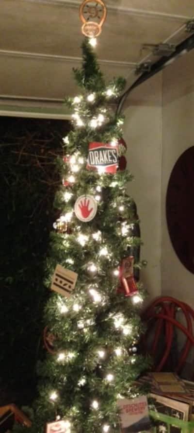 Beer Christmas Tree