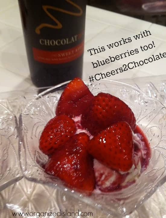 ChocolatRouge-dessert-sauce-over-fruit #Cheers2Chocolate #ChocolatRouge #shop