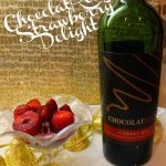 Chocolate Wine Strawberry Delight with #ChocolatRouge