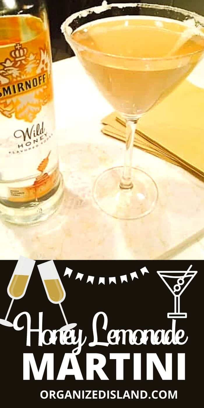 Honey Lemonade Martini