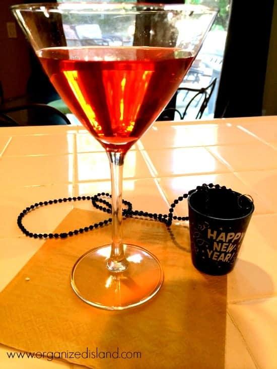 Black Raspberry Martini