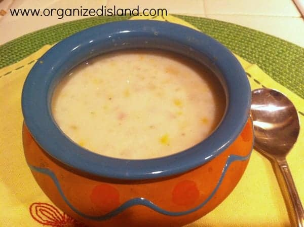 Mexicorn Chowder
