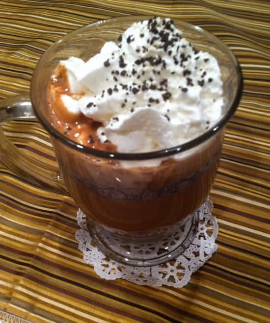Really Simple Nutella Hot Chocolate | Organized Island
