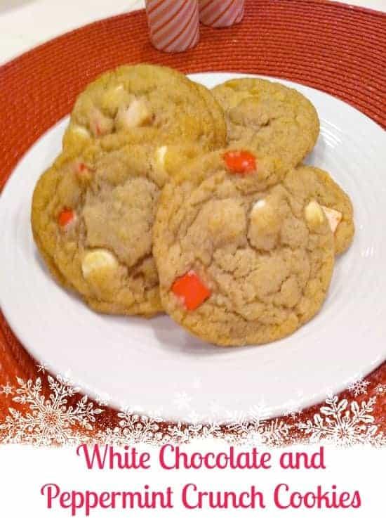 Simple Peppermint Cookies