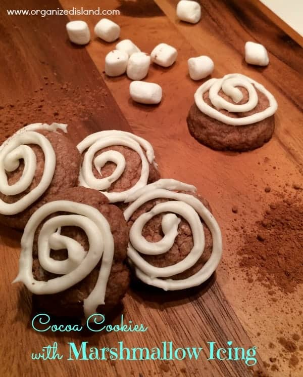 Chocolate-and-marshmallow-cookies
