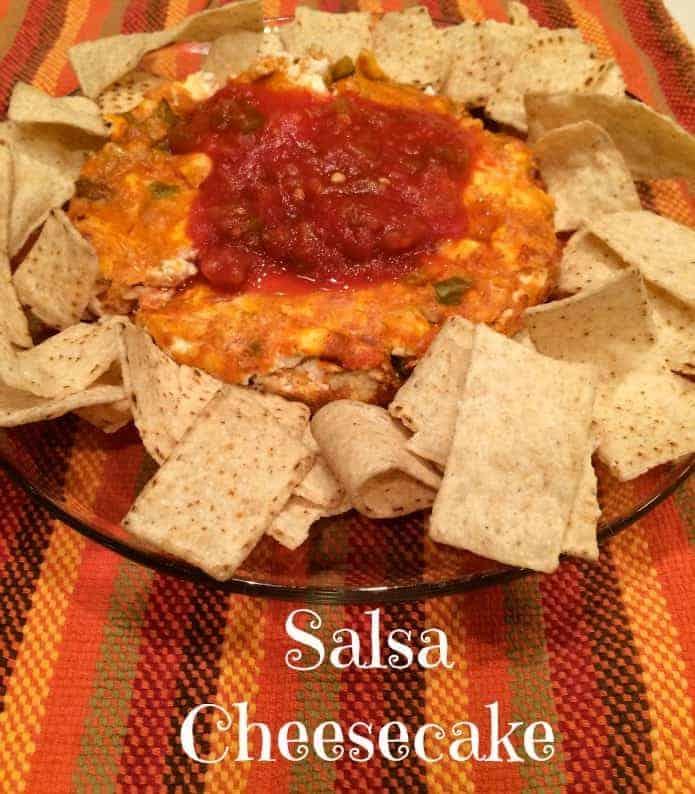 Salsa Cheesecake #AppetizerWeek