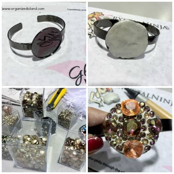 Swavorski-Crystal-bracelet-decorating