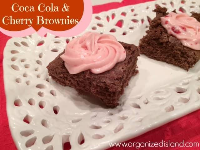 Coca Cola & Cherry Brownies