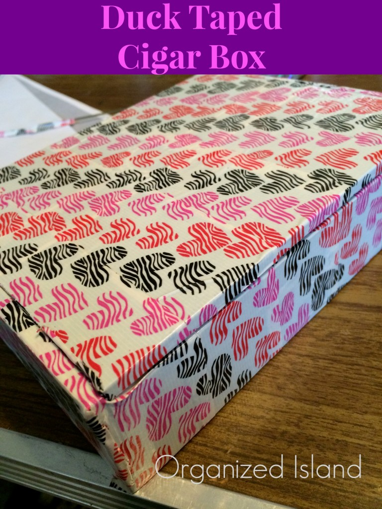 Duct-Tape-Decorating-Cigar-Box