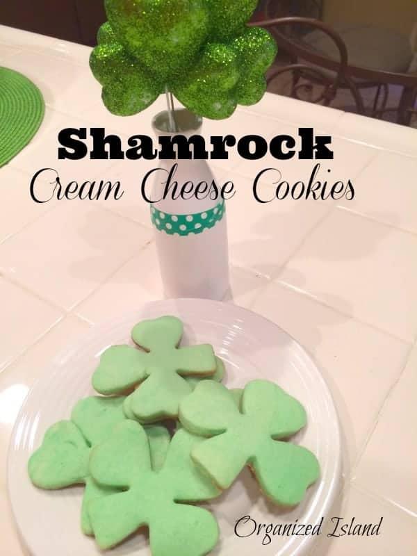 Shamrock-Cream-Cheese-Cookies