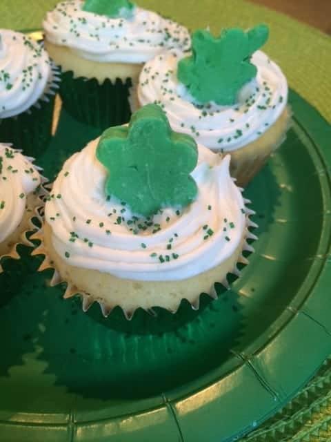 Shamrock-Cupcakes