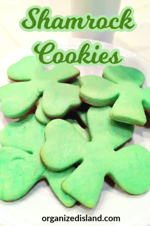 St. Patricks Day Dessert cookies