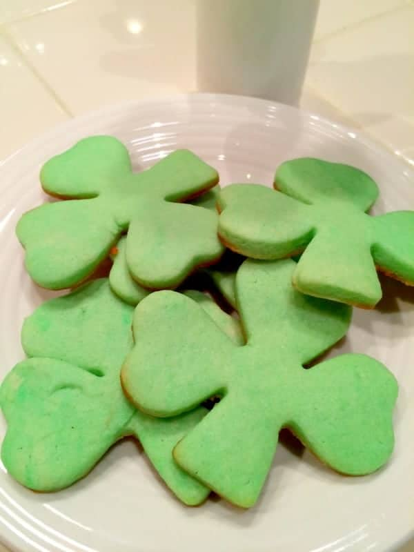 St.Patrick's Day Shamrock Dessert