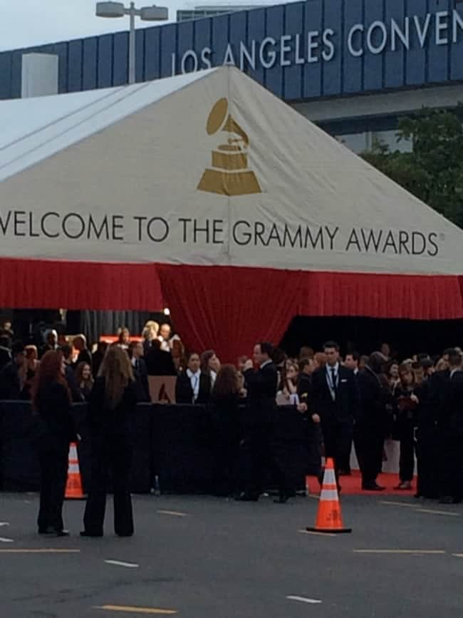 Welcome to the Grammys