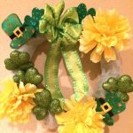 St. Patrick's Day Wreath Craft & a Celebration