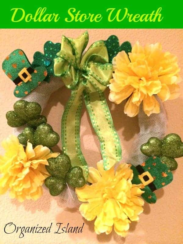 St. Patrick's Day Wreath Craft & a Celebration