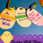 Easter Ideas – Gift Tags from Paint Chips