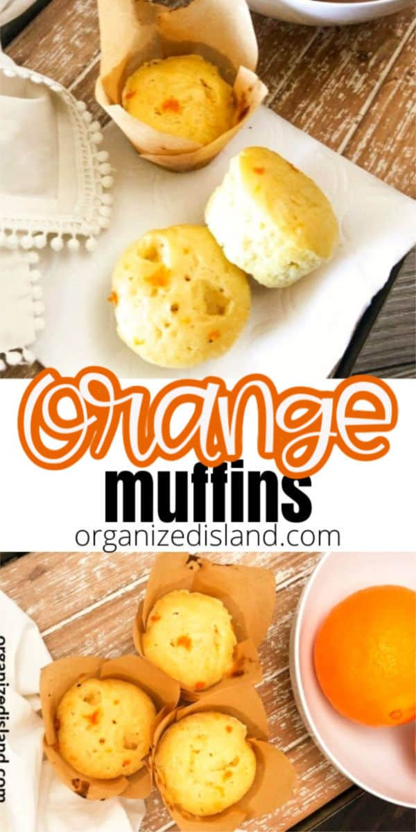 Fruit muffins - orange muffins