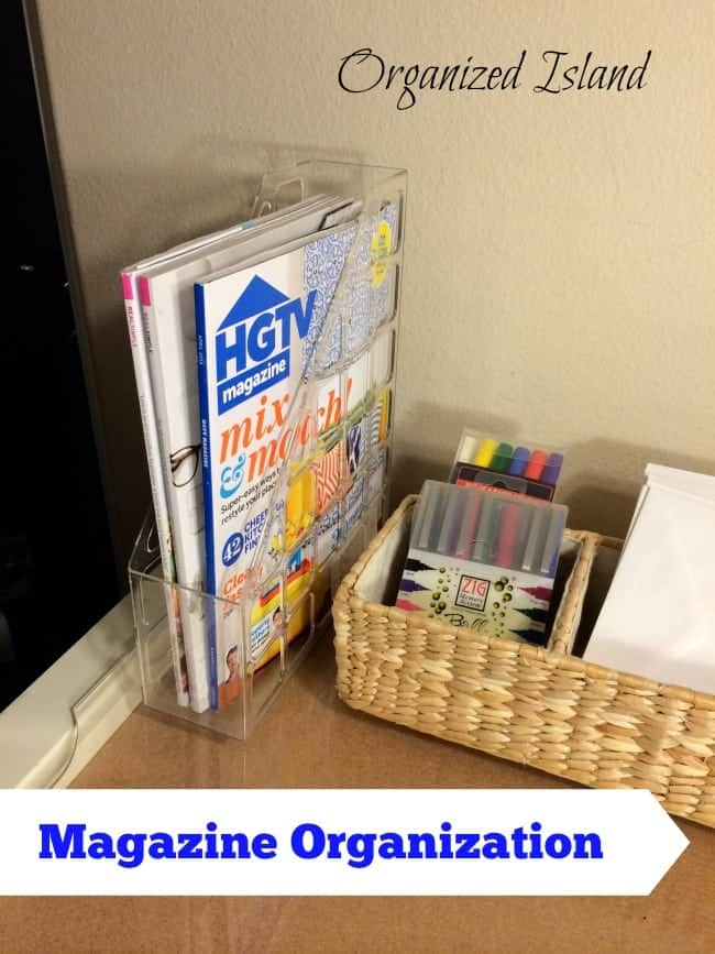 Organizing Tips for Managing your magazines