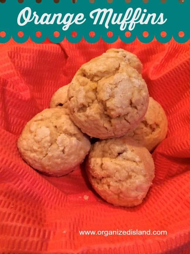 Tasty Orange Muffin Recipe