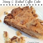 Honey and Walnut Coffee Cake