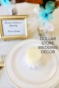dollar store wedding decor ideas
